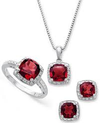 jewelry sets gemstone and diamond accent jewelry sets in sterling silver