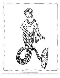 mermaid coloring pages book mermaids sea