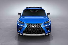 white lexus nx f sport 2018 lexus nx gets a refresh in shanghai motor trend canada