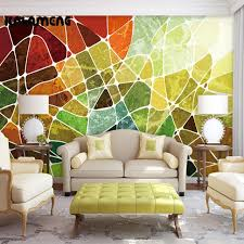 kalameng custom 3d wallpaper design color blocks photo kitchen
