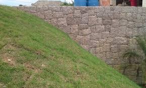 Top Muro de arrimo de pedra rachão Muro de arrimo de pedra bruta &DQ79