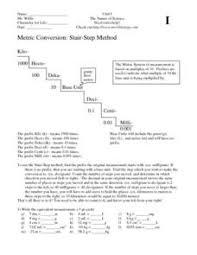 si unit conversions lesson plans u0026 worksheets reviewed by teachers