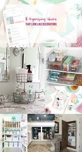 organizing hacks 5 organizing hacks that look like decorations happily ever after