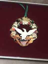 the white house historical assoc 1998 ornament ebay