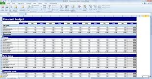 Budget Template Excel Budget Presentation Template Excel Free Personal Budget Template
