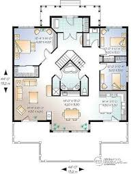 chic ideas lake house floor plans with walkout basement plan w3927