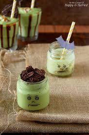 scary good halloween green monster shake