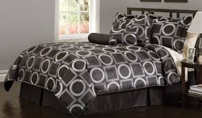 Black And White Queen Bed Set Black And White Comforter Set Two Standing Lamps And Bedding Sets