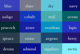 name every shade of the rainbow with this u0027color thesaurus
