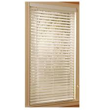 Wood Grain Blinds Shop Style Selections 2 In White Etched Woodgrain Faux Wood Room