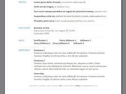 resume maker best resume builder software
