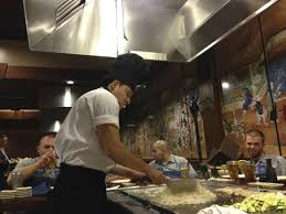 japanese restaurant cook at table chef at table picture of sakura japanese steakhouse tysons corner