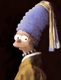 vermeer pearl necklace vermeer s marge with a pearl necklace parodies variations