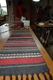 what is a table runner wool table runner learning to weave on a frame loom course not