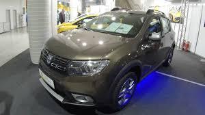 renault sandero interior 2017 dacia sandero stepway new model 2017 quarzit brown colour