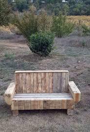 faire canapé soi même diy bricolage faire canapé banc palette bois accoudoirs dossier diy