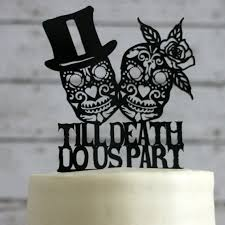 sugar skull cake topper day of the dead wedding cake topper skeleton sugar skull