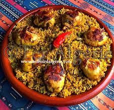 cuisine de biskra riz à l algérienne roz mfaouer روز مفاور ter algérie