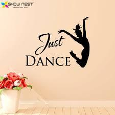 Aliexpress Home Decor Aliexpress Com Buy Just Dance Wall Stickers Home Decor Ballet