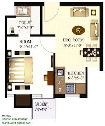 500 sq ft cottage floor plans