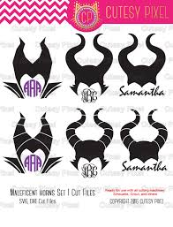 horns svg spooky horns maleficent horns halloween desings svg
