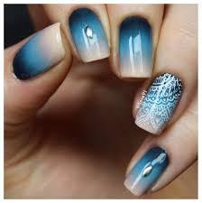 ombre accent nails by lieve unhas inspirações pinterest