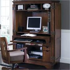Computer Armoire Desk Cabinet Small Computer Armoire Desk Generis Co