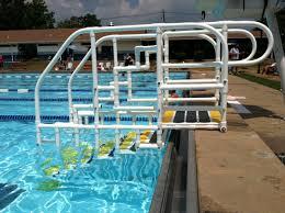 Swimming Pool Handrails Inground Pool Step Railings Round Designs