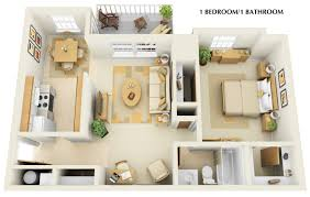 one bedroom apartments with den decorate ideas interior amazing