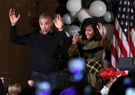 halloween atlantic city 2016 barack and michelle obama dance to thriller for halloween time com