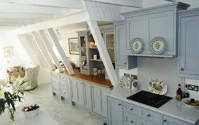 isle of arran home to beautiful painted kitchen mark stone u0027s
