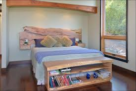 Headboard Nightstand Attached Bedroom Awesome Headboard With Nightstand Built In Headboard