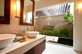 Kids Bathroom Vanities Tropical Kids Bathroom Black Ceramic Floor Brass Wall Mounted