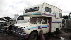 toyota car yard junkyard find 1978 toyota dolphin mini motorhome