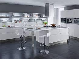 cuisine blanc lovely comment amenager sa cuisine ouverte 8 d233co cuisine