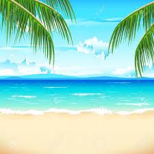 caribbean clipart beach pencil and in color caribbean clipart beach
