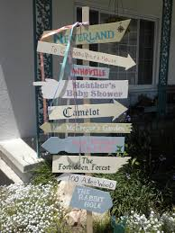literary sign post i made for my best friend u0027s storybook baby