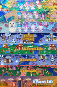 animal crossing halloween background about a forest life