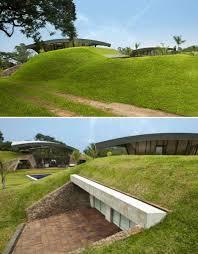 homes built into hillside modern earth shelter homes built into the hillside house of