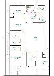 South Facing House Floor Plans 45 X 50 Gharexpert 45 X 50