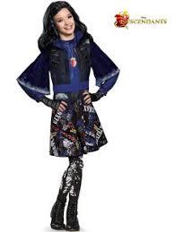 Disney Halloween Costumes Girls Disney Descendants Mal Classic Costume Movie Tv Costumes