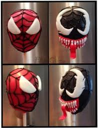 the hazelnut bakery spiderman cake pops cake pops pinterest