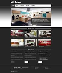 interior design responsive website template 45404