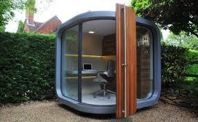 module bureau officepod un bureau dans le jardin à lire