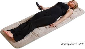 Electric Heated Cushion Amazon Com Relaxzen 60 2907p08 10 Motor Vibration Massage