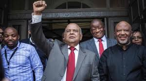South African Cabinet Ministers Pictures South Africa Leaders Divided After President Zuma Sacks Gordhan