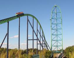 Six Flags New Jeresy Kingda Ka Six Flags Record Breaking Coaster