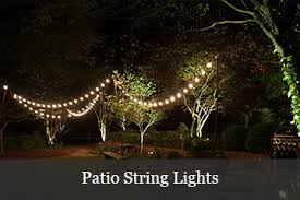 Patio Lights String Ideas How To Hang Patio Lights Yard Envy