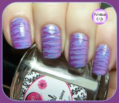 nail art tutorial the toothpick marbled nail nail it