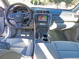 2015 Camry Le Interior 2015 Toyota Camry Xle V6 Test Drive Nikjmiles Com